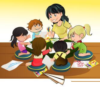 Ребенок в кругу семьи фото